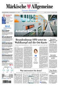 Märkische Allgemeine Zossener Rundschau - 01. Dezember 2018