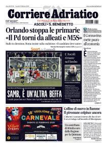 Corriere Adriatico Ascoli - 10 Febbraio 2020