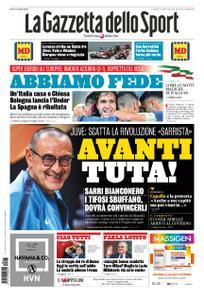 La Gazzetta dello Sport – 17 giugno 2019