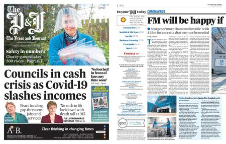 The Press and Journal Moray – April 21, 2020