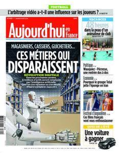 Aujourd'hui en France – 21 août 2018