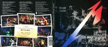Metallica - Liberte, Egalite, Fraternite, Metallica! (2016) Repost