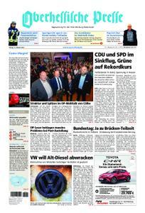 Oberhessische Presse Marburg/Ostkreis - 19. Oktober 2018