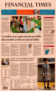 Financial Times Europe – 11 October 2019
