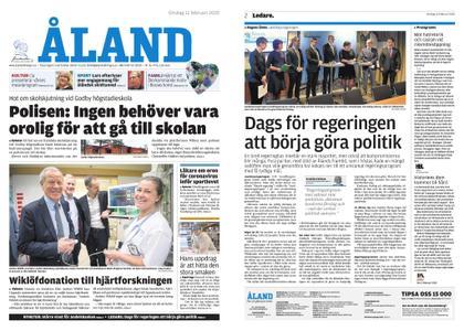 Ålandstidningen – 12 februari 2020