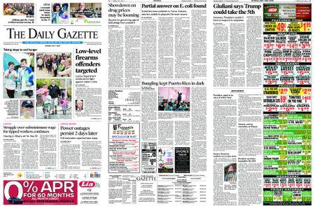 The Daily Gazette – May 07, 2018