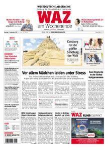 WAZ Westdeutsche Allgemeine Zeitung Oberhausen-Sterkrade - 02. September 2017