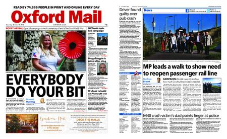 Oxford Mail – October 20, 2018