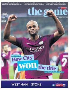 The Times - The Game - 16 April 2018