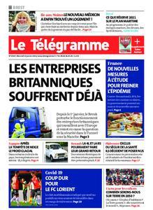 Le Télégramme Brest – 13 janvier 2021