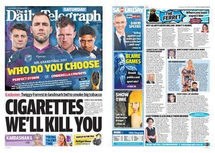 The Daily Telegraph (Sydney) – September 30, 2017
