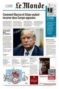 Le Monde du Vendredi 7 Septembre 2018