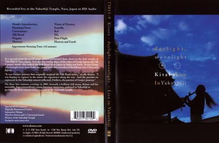 Kitaro - Daylight, Moonlight: Live in Yakushiji (2004) DVD9