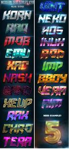 GraphicRiver - Modern Text Styles V28 23661740