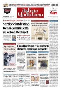 Il Fatto Quotidiano - 4 Agosto 2017