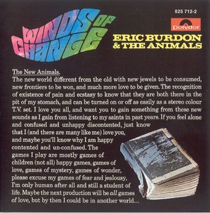 Eric Burdon & The Animals - Winds Of Change (1967) [1991 West German Polydor Pressing]