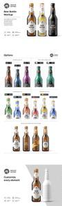CreativeMarket - Beer Bottle Mockup 3605950