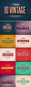 CreativeMarket - Retro Text Effects Vol.1 - 3903974
