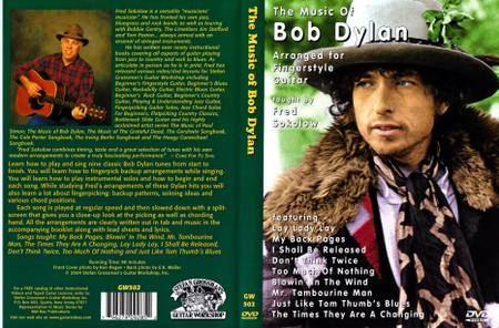 The Music Of Bob Dylan Arranged For Fingerstyle Guitar