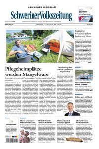 Schweriner Volkszeitung Hagenower Kreisblatt - 17. Juli 2018
