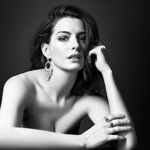 Anne Hathaway by David Slijper for KEER Jewelry Campaign
