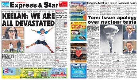 Express and Star Sandwell Edition – June 01, 2018