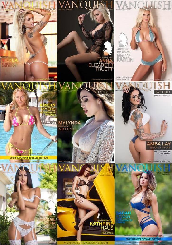 Vanquish Magazine - Full Year 2017 Collection