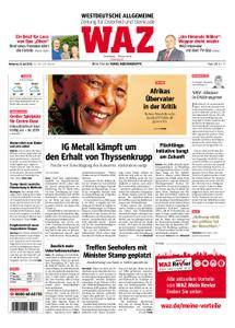 WAZ Westdeutsche Allgemeine Zeitung Oberhausen-Sterkrade - 18. Juli 2018