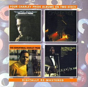Charley Pride - Four Charley Pride Albums (1968-1970) {2CD Set BGO Records BGOCD1181 rel 2015}