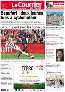 Le Courrier de l'Ouest Angers - 26 août 2018