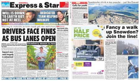 Express and Star Sandwell Edition – June 01, 2019