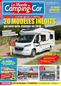 Le Monde du Camping-Car - décembre 2015