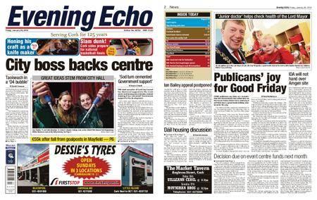 Evening Echo – January 26, 2018