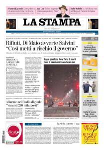 La Stampa Imperia e Sanremo - 17 Novembre 2018