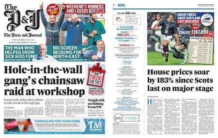 The Press and Journal Moray – November 16, 2020