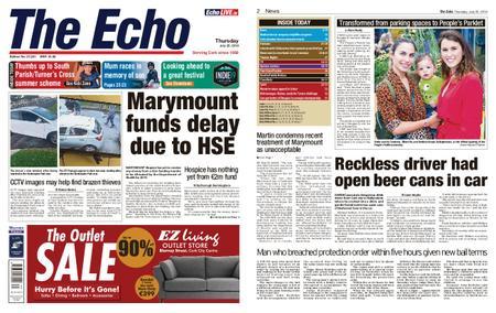 Evening Echo – July 25, 2019