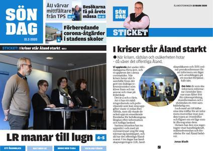 Ålandstidningen – 15 mars 2020
