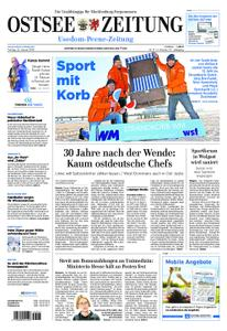 Ostsee Zeitung Wolgast - 25. Januar 2019
