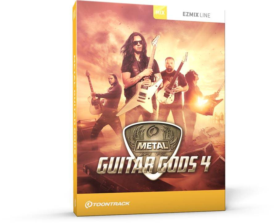 Toontrack EMX Metal Guitar Gods Vol 4 v1.0.0 WiN OSX