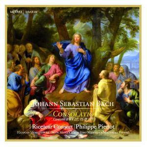 Ricercar Consort & Philippe Pierlot - J.S. Bach: Consolatio (2018) [Official Digital Download 24/96]