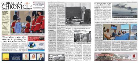Gibraltar Chronicle – 20 July 2021
