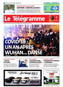 Le Télégramme Brest Abers Iroise – 23 janvier 2021