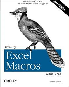 Writing Excel Macros with VBA (2nd Edition)