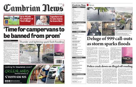 Cambrian News Machynlleth & Llanidloes – 13 August 2020