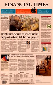 Financial Times UK – 30 January 2020