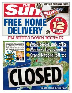 The Sun UK - 17 March 2020