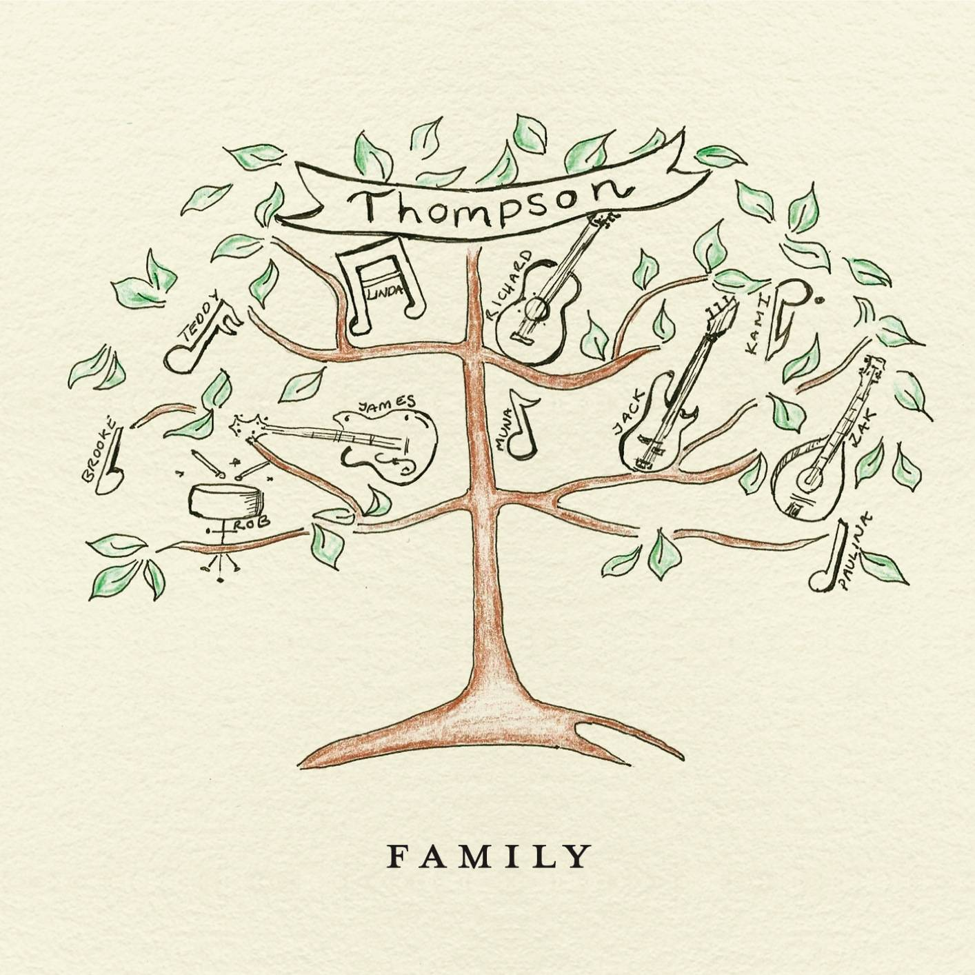Thompson - Family (2014) [Official Digital Download 24-bit/96kHz]