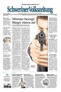 Schweriner Volkszeitung Hagenower Kreisblatt - 12. Januar 2018