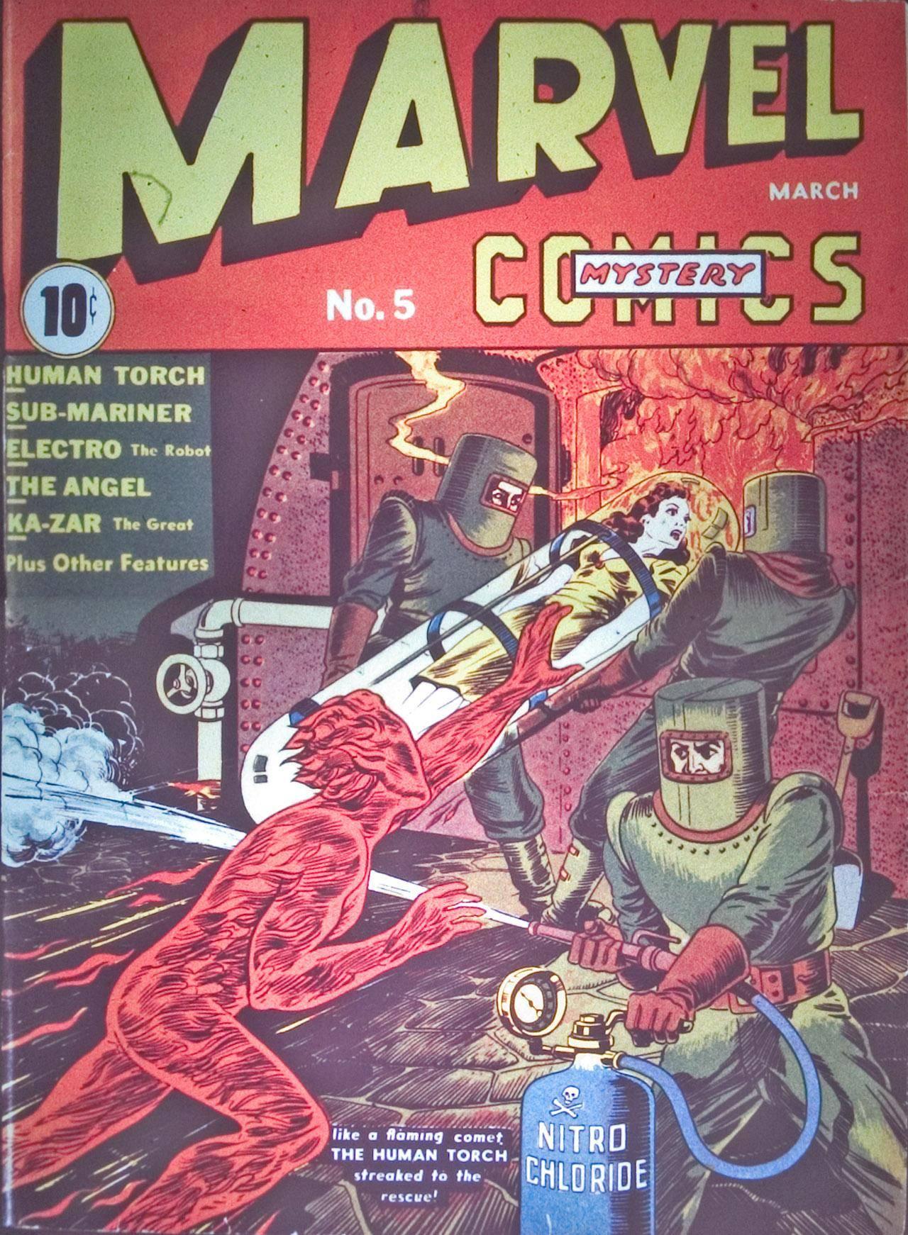 Marvel Mystery Comics v1 005