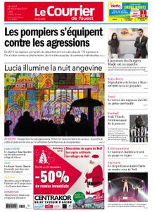 Le Courrier de l'Ouest Angers – 20 décembre 2019